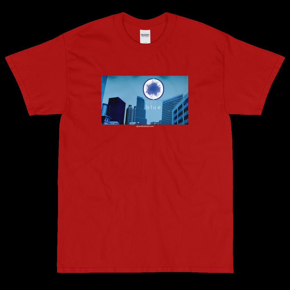 Open Blue Cityscape